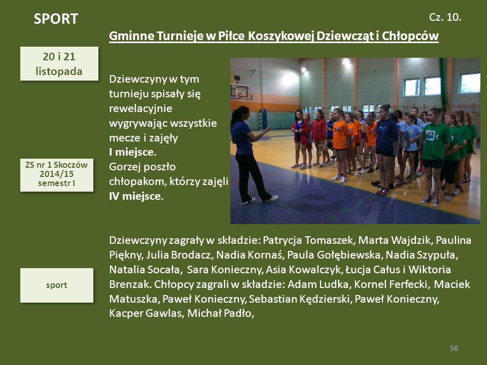 SPORT Gminne Turnieje w Piłce Koszykowej Dziewcząt i Chłopców Cz. 10.