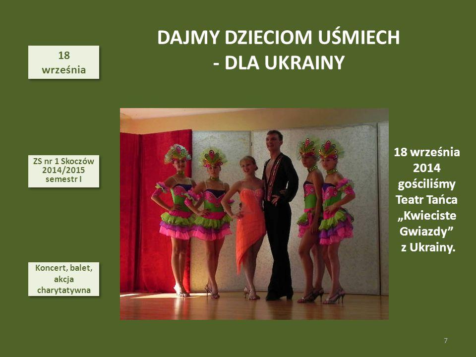 DAJMY DZIECIOM UŚMIECH - DLA UKRAINY