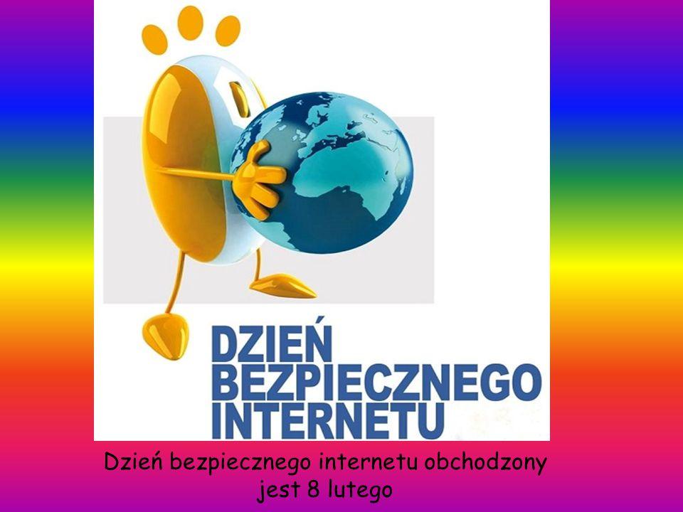 Dzień bezpiecznego internetu obchodzony jest 8 lutego