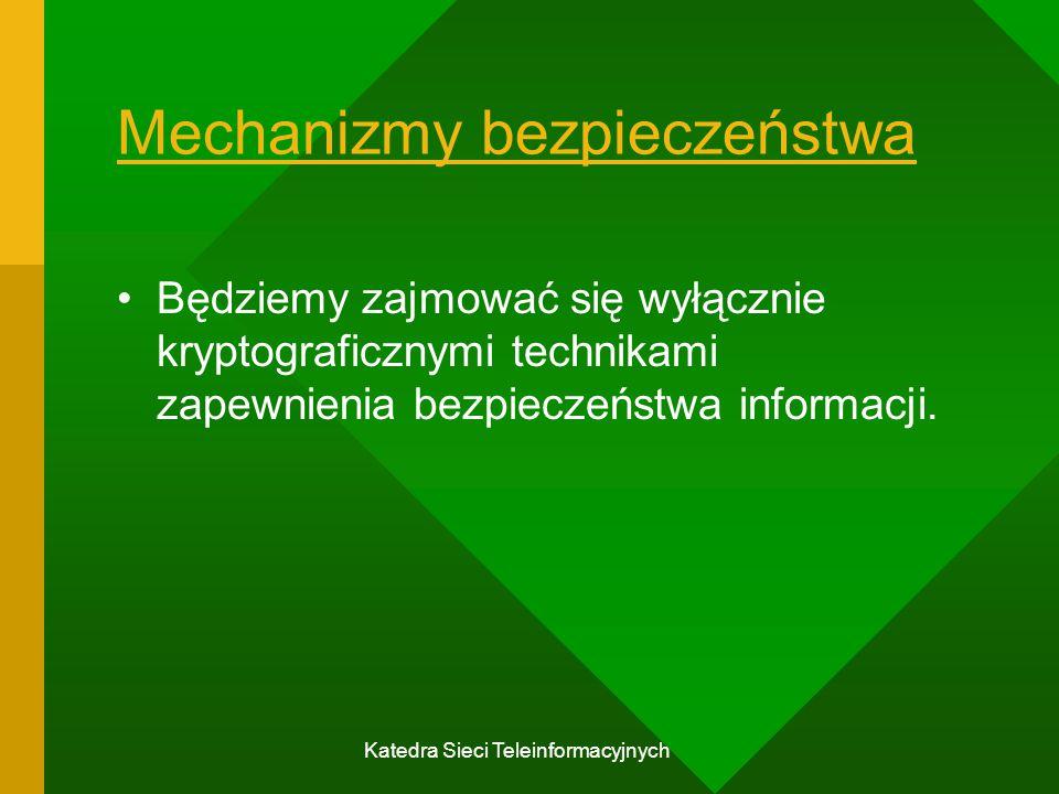 Mechanizmy bezpieczeństwa