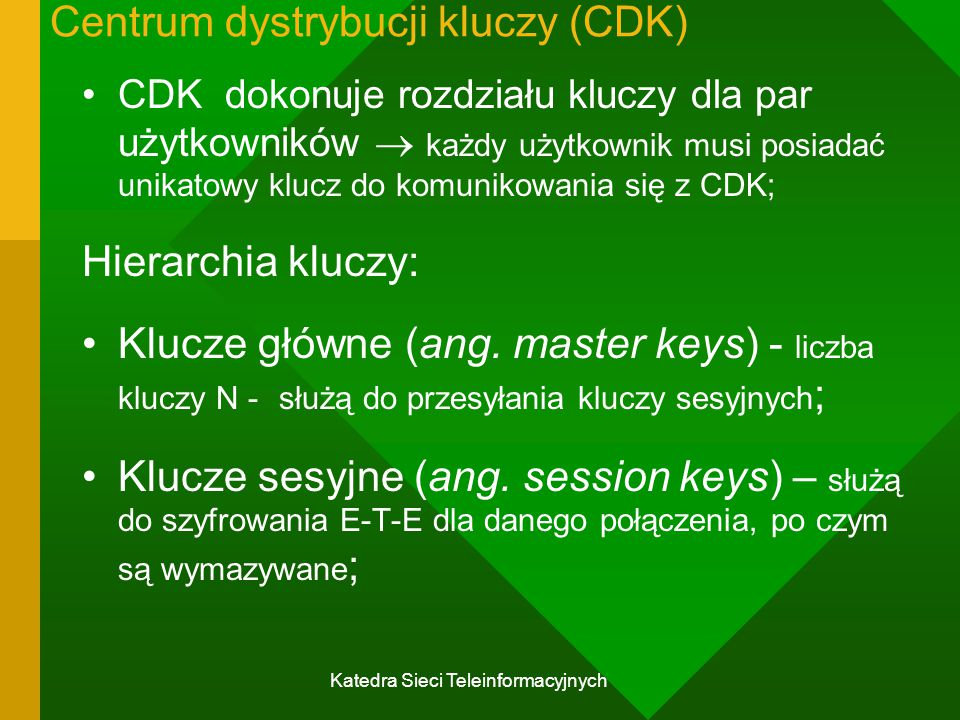 Centrum dystrybucji kluczy (CDK)