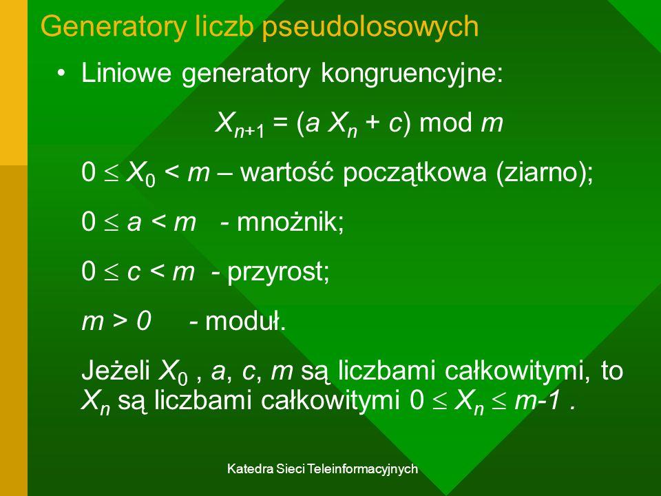 Generatory liczb pseudolosowych