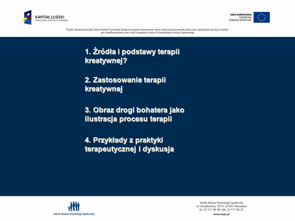 1. Źródła i podstawy terapii kreatywnej