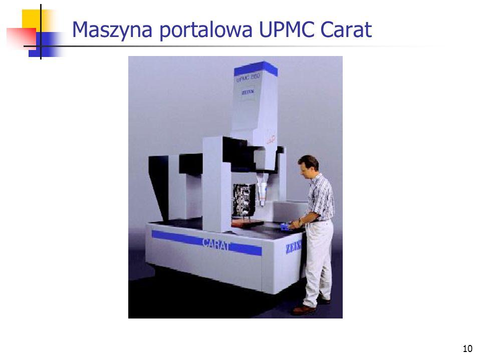 Maszyna portalowa UPMC Carat