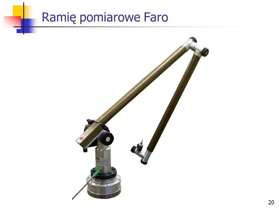 Ramię pomiarowe Faro