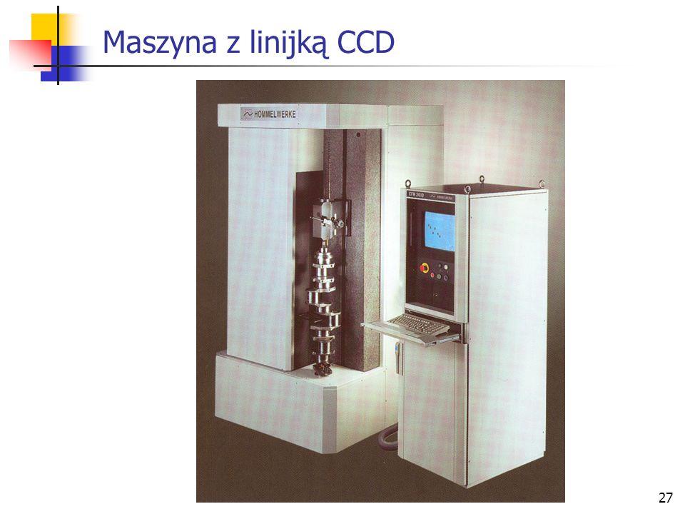 Maszyna z linijką CCD