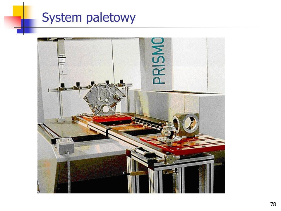 System paletowy