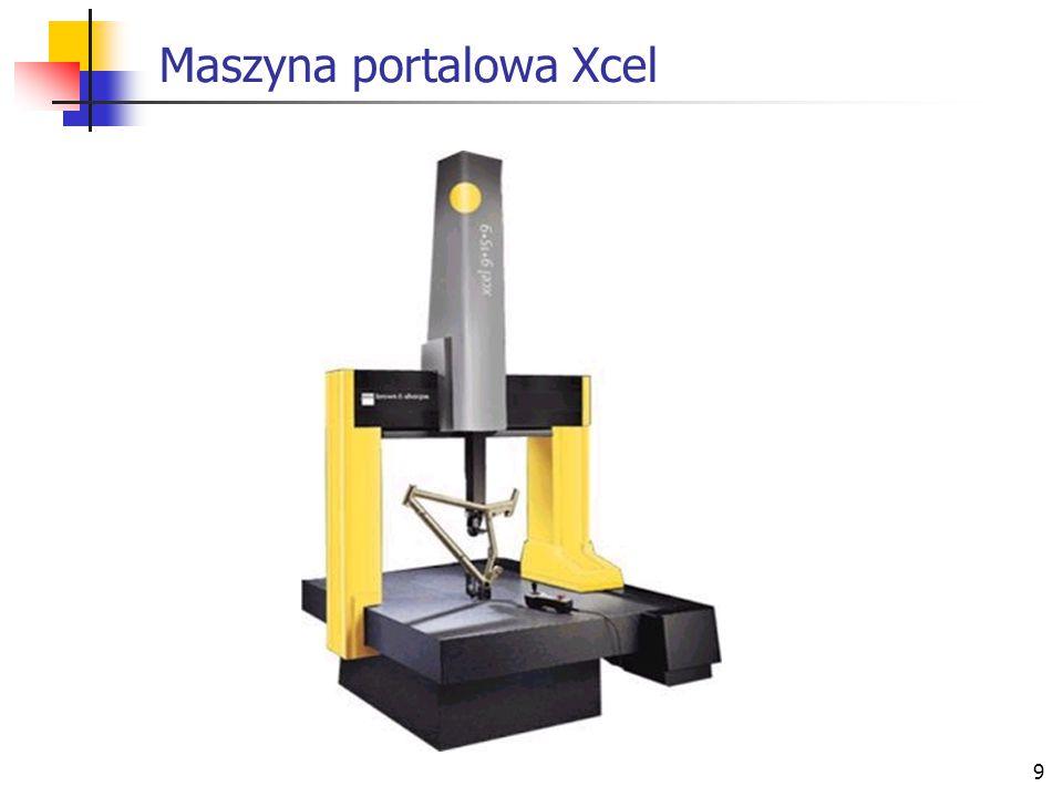 Maszyna portalowa Xcel