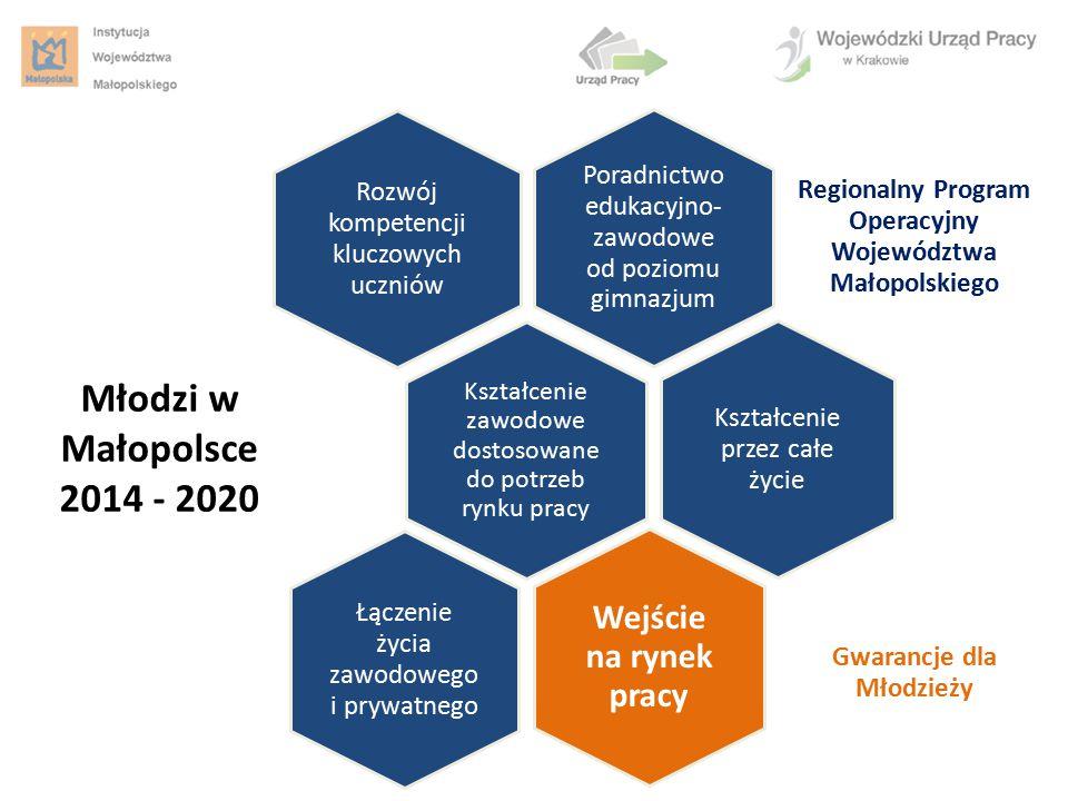 Młodzi w Małopolsce 2014 - 2020 Wejście na rynek pracy