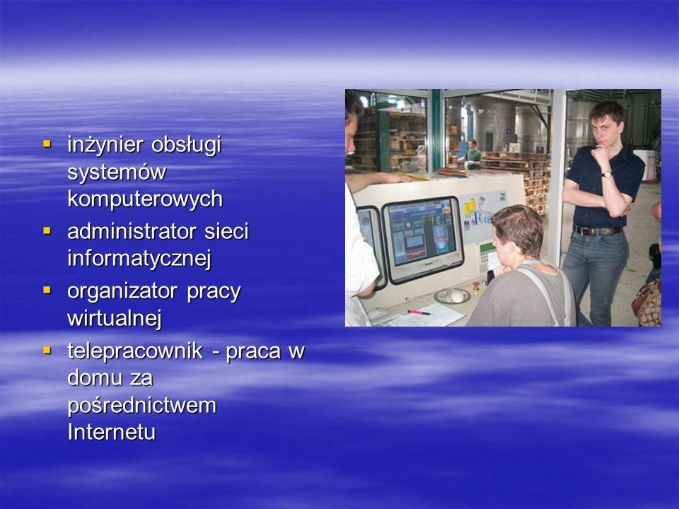 inżynier obsługi systemów komputerowych