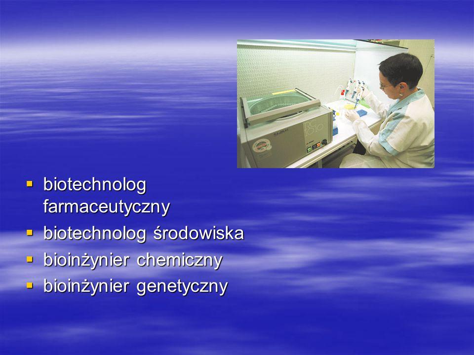 biotechnolog farmaceutyczny