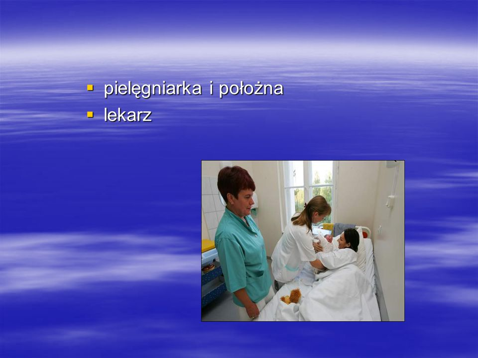 pielęgniarka i położna