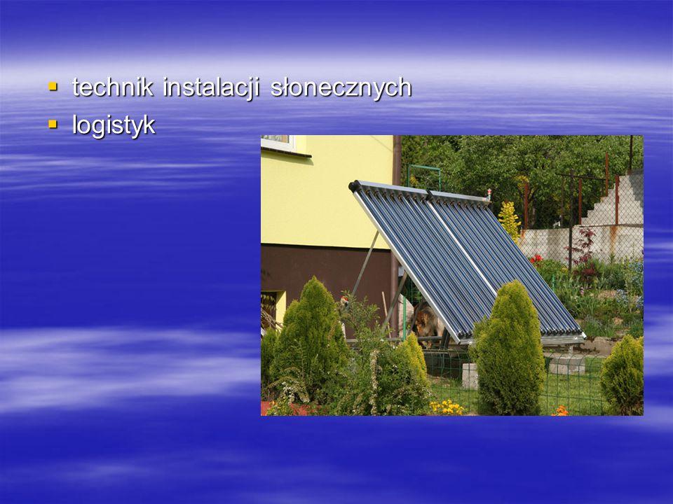 technik instalacji słonecznych