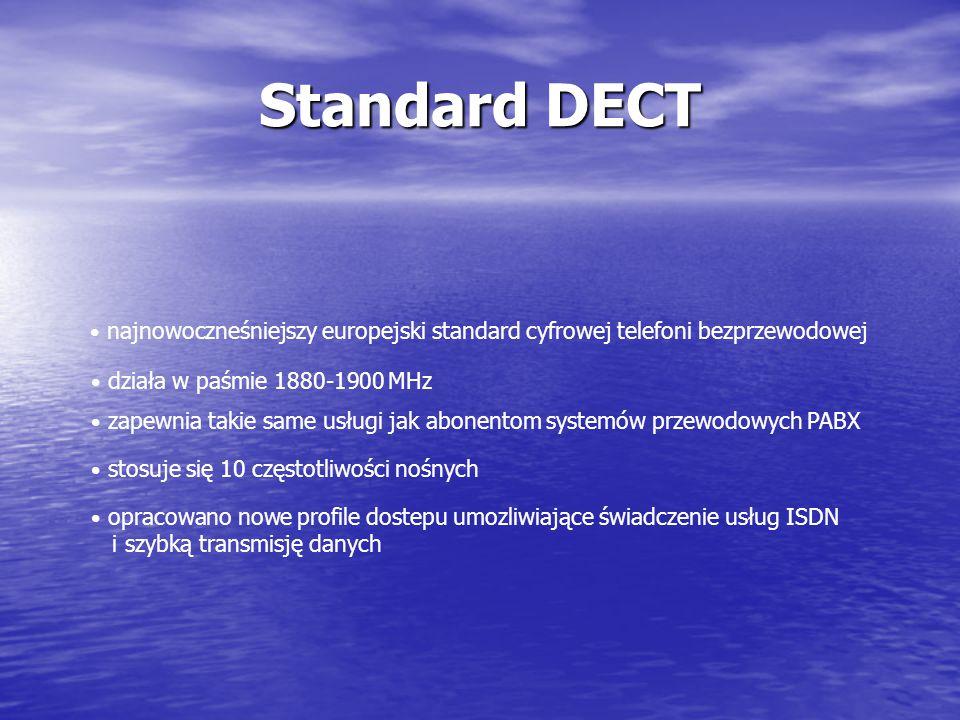 Standard DECT i szybką transmisję danych