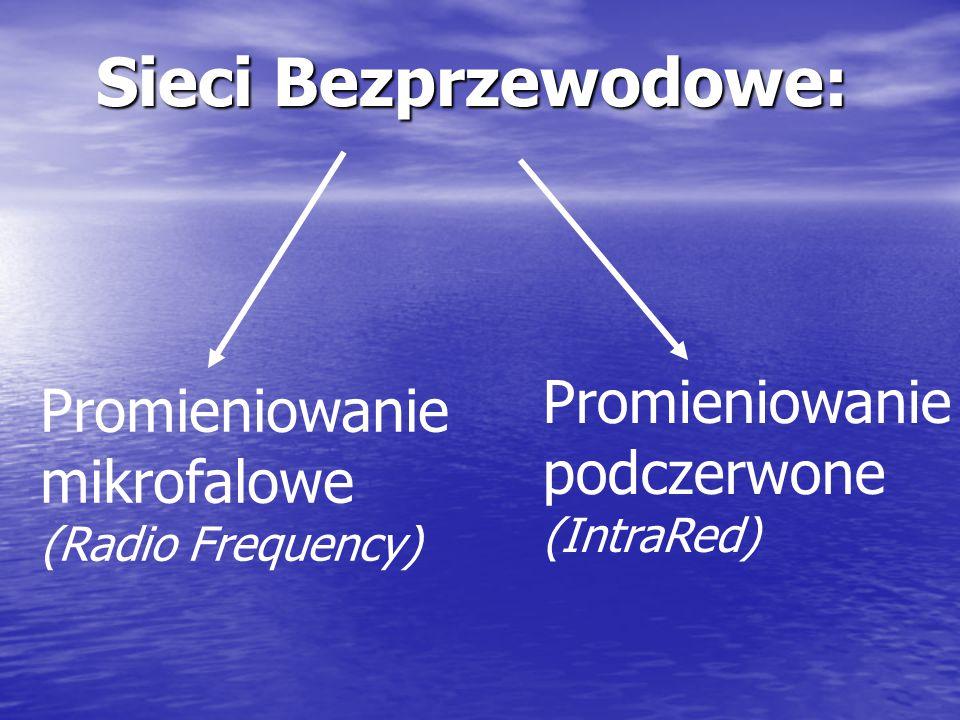 Sieci Bezprzewodowe: Promieniowanie Promieniowanie podczerwone