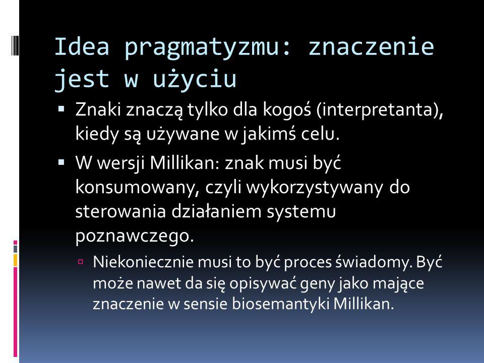 Idea pragmatyzmu: znaczenie jest w użyciu