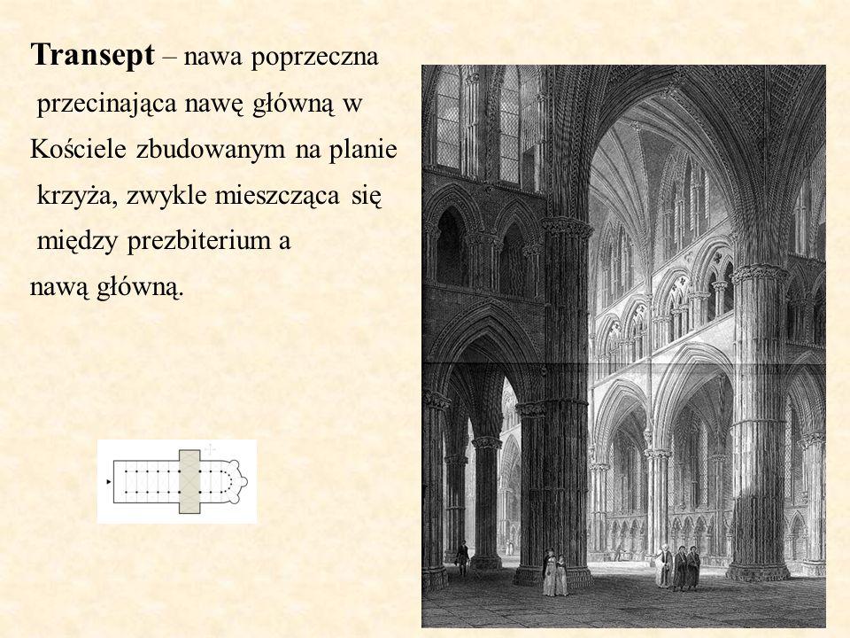 Transept – nawa poprzeczna