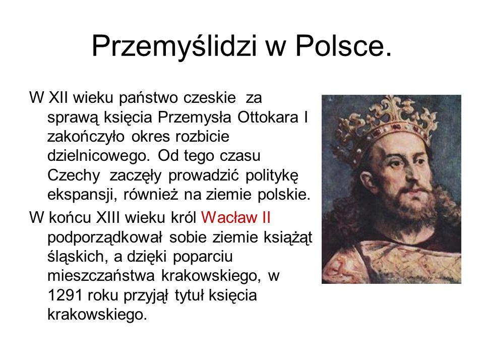 Przemyślidzi w Polsce.