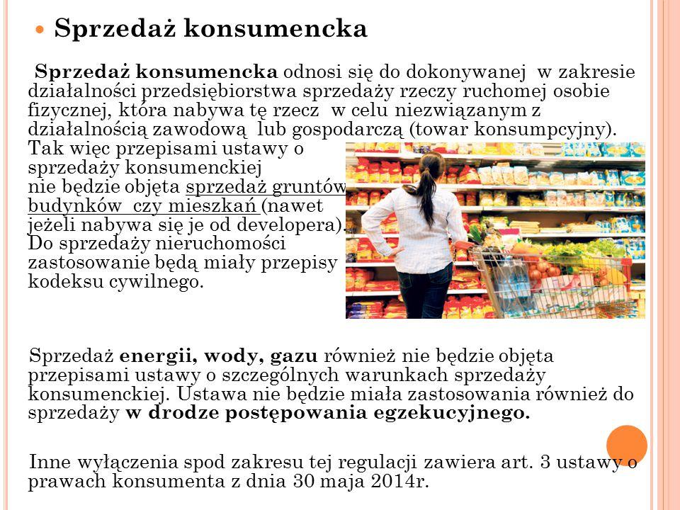 Sprzedaż konsumencka
