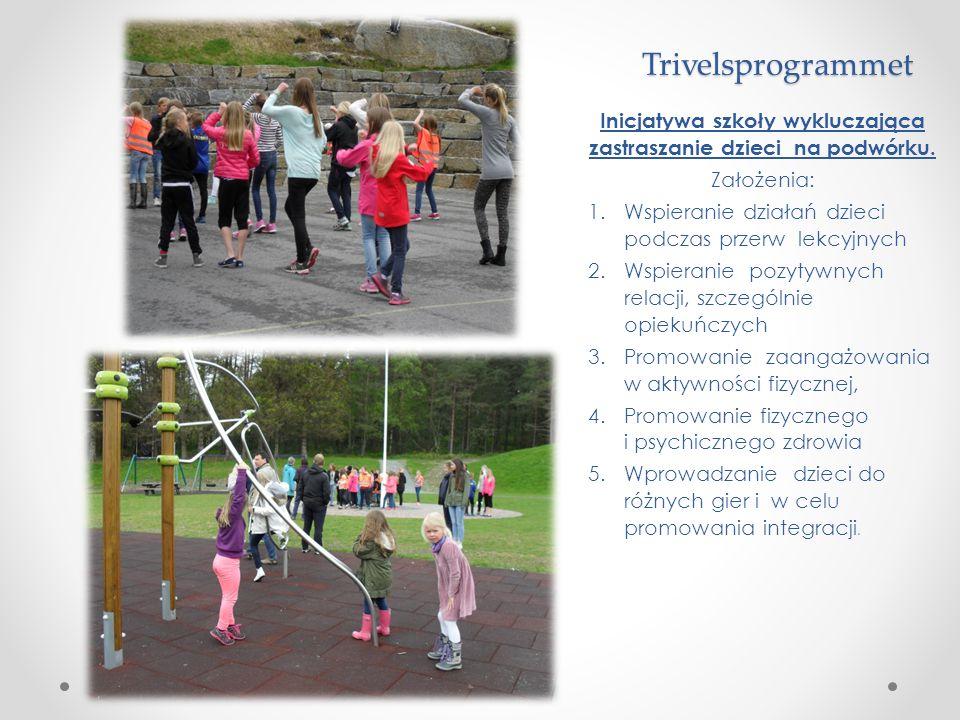 Inicjatywa szkoły wykluczająca zastraszanie dzieci na podwórku.