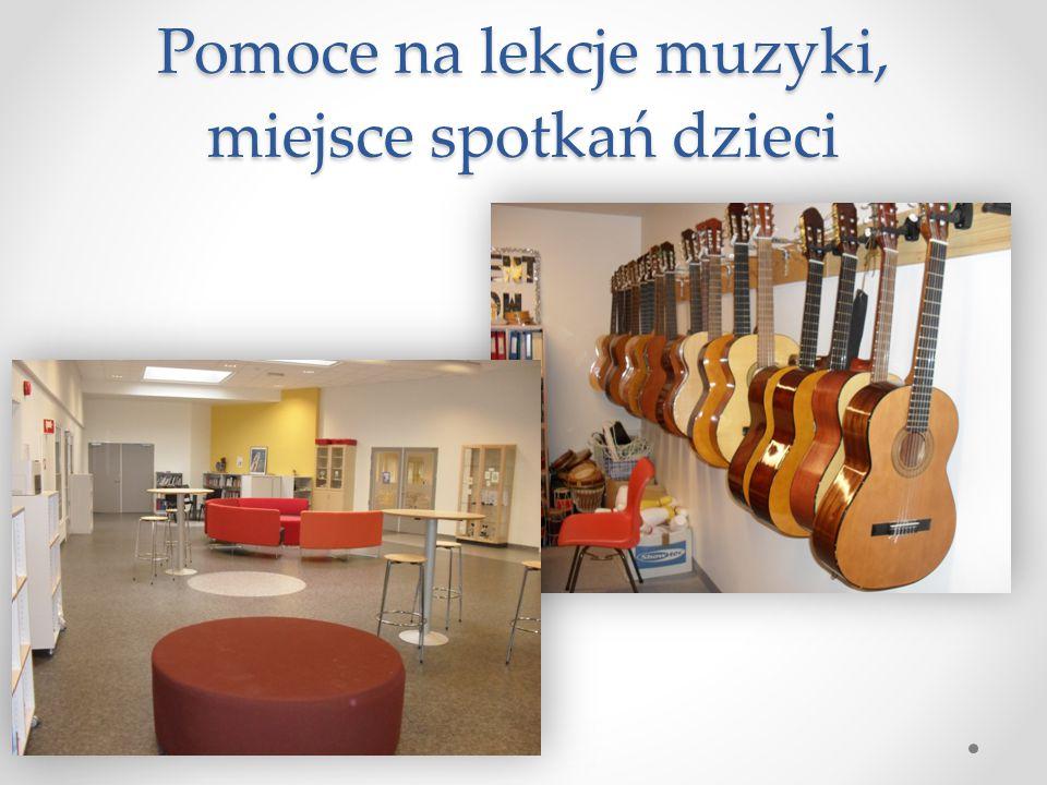 Pomoce na lekcje muzyki, miejsce spotkań dzieci