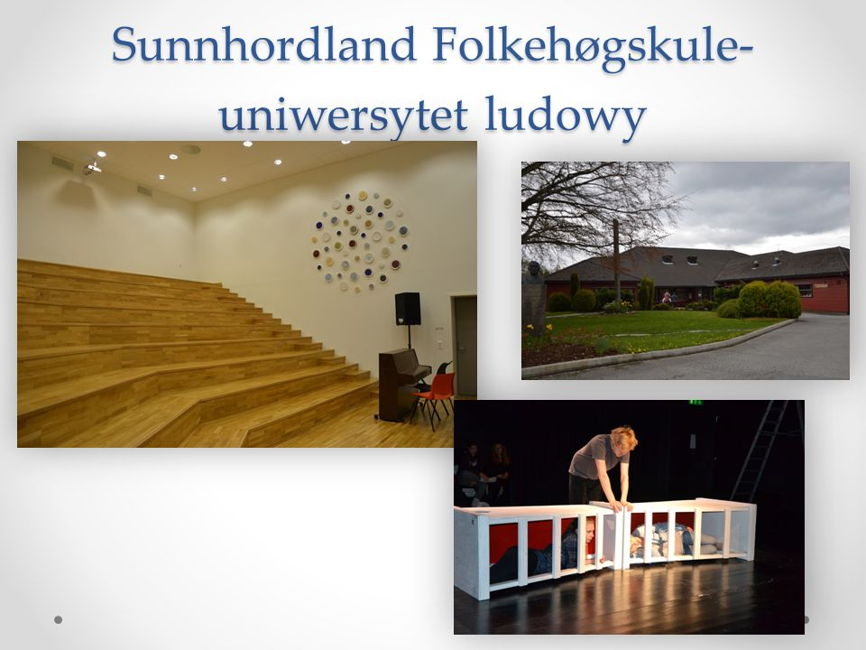 Sunnhordland Folkehøgskule- uniwersytet ludowy