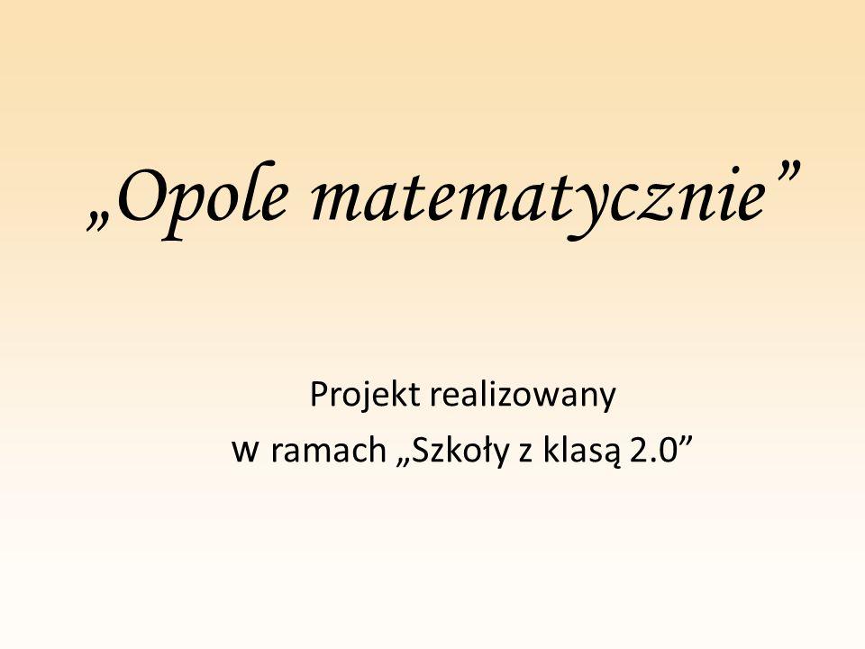 """""""Opole matematycznie"""