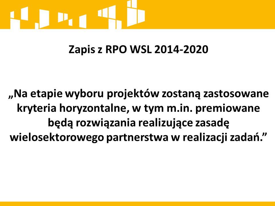 Zapis z RPO WSL 2014-2020
