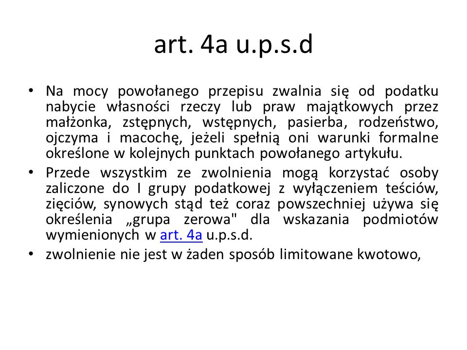 art. 4a u.p.s.d