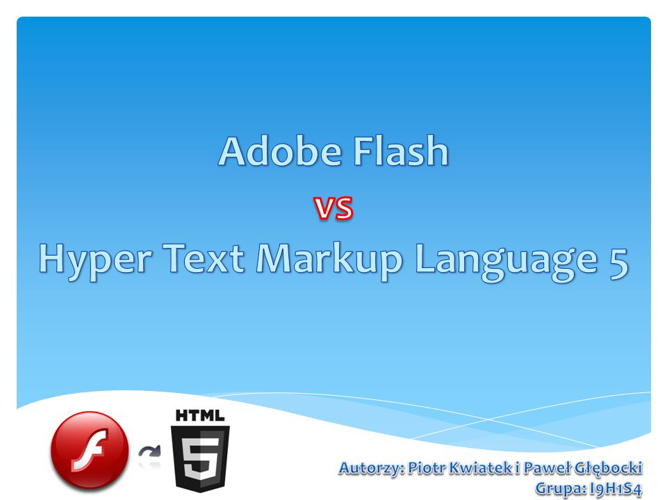 Adobe Flash vs Hyper Text Markup Language 5