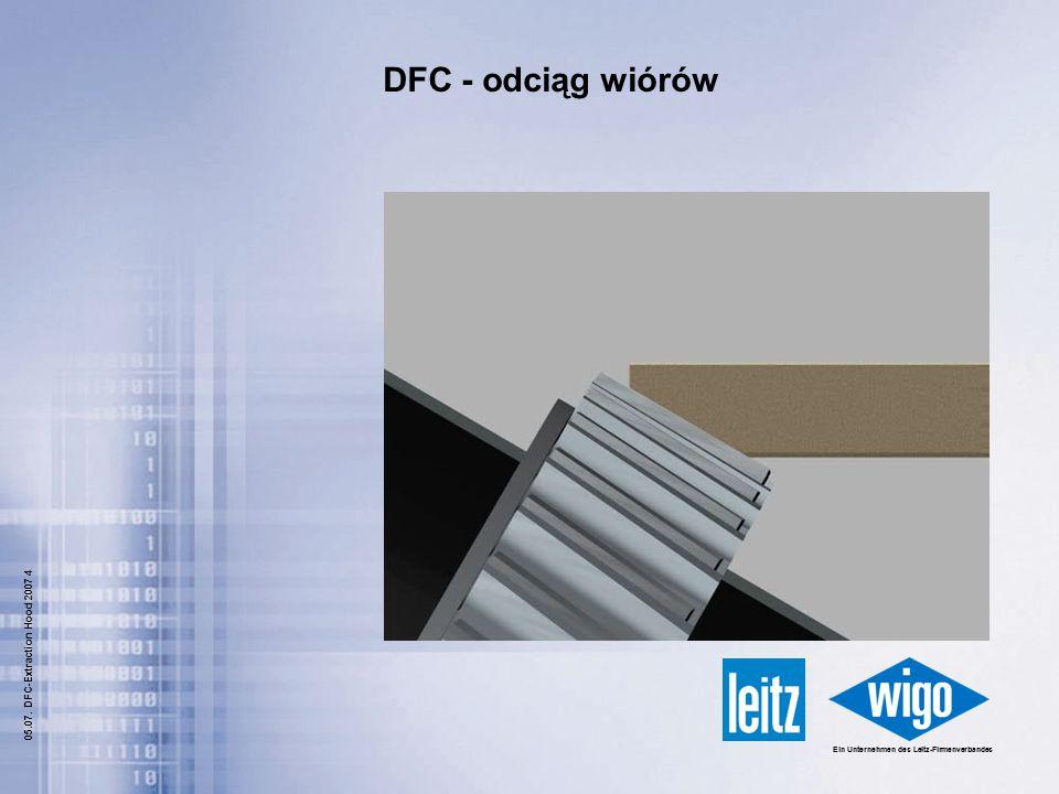 DFC - odciąg wiórów 05.07. DFC-Extraction Hood 2007 4