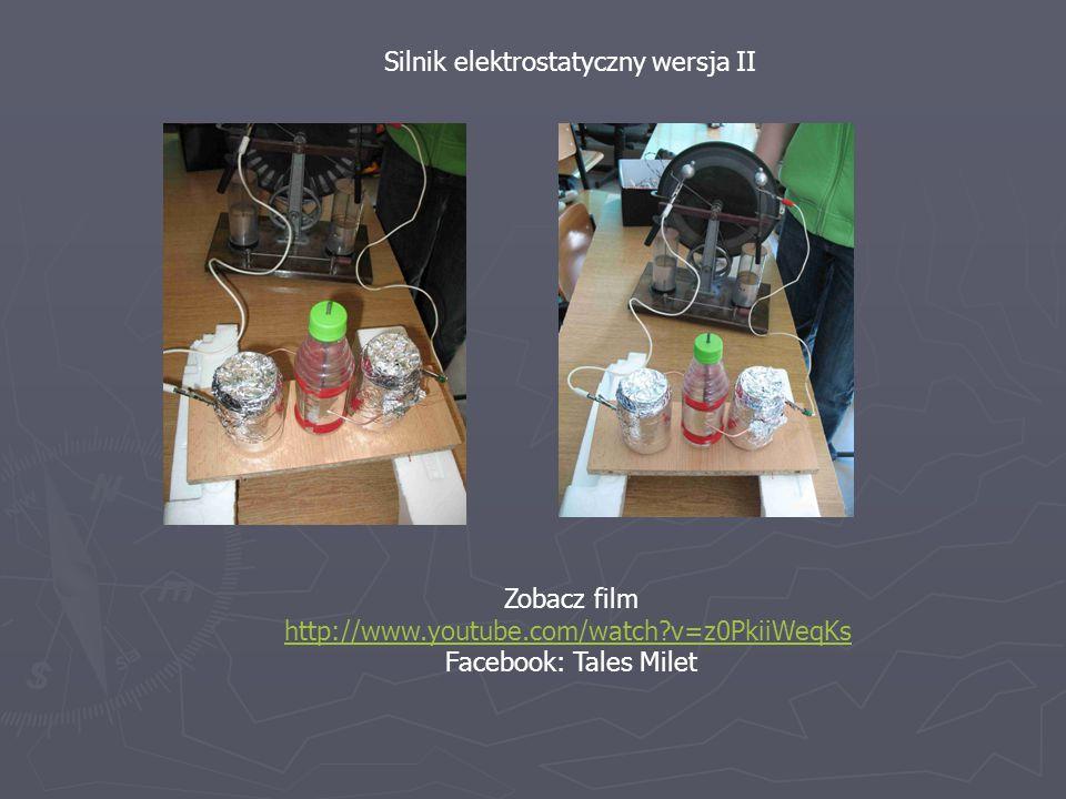 Silnik elektrostatyczny wersja II