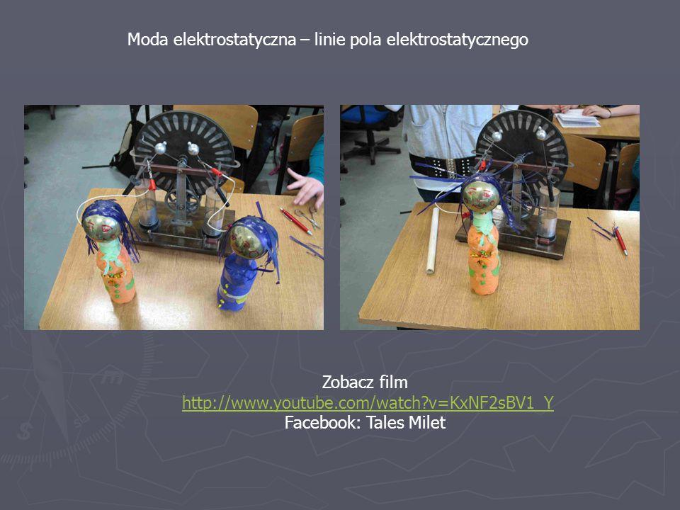 Moda elektrostatyczna – linie pola elektrostatycznego