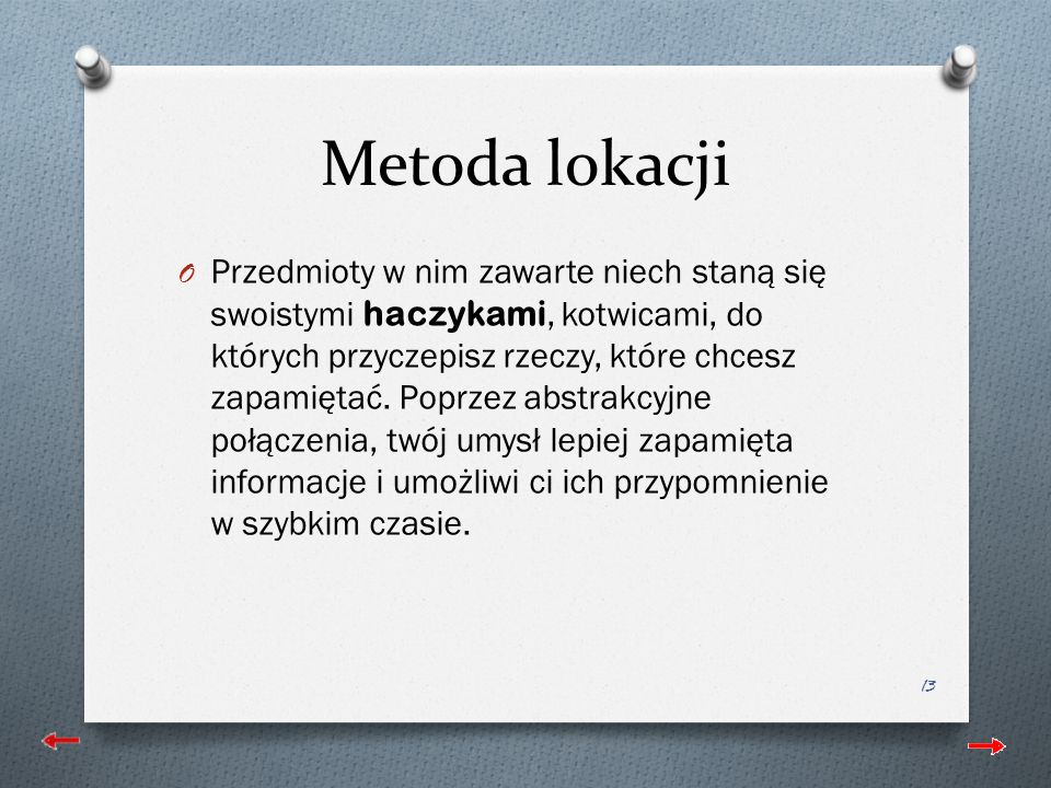 Metoda lokacji