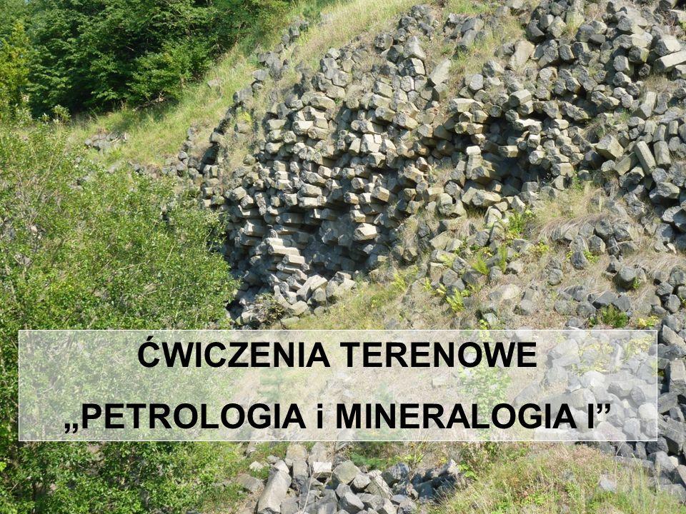 """""""PETROLOGIA i MINERALOGIA I"""