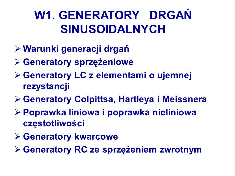W1. GENERATORY DRGAŃ SINUSOIDALNYCH