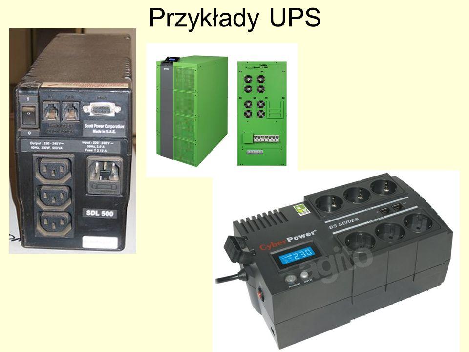 Przykłady UPS