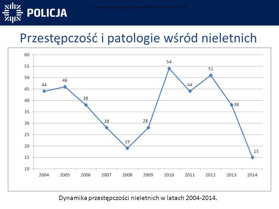 Przestępczość i patologie wśród nieletnich