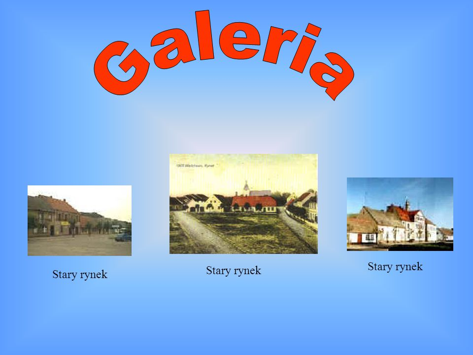 Galeria Stary rynek Stary rynek Stary rynek