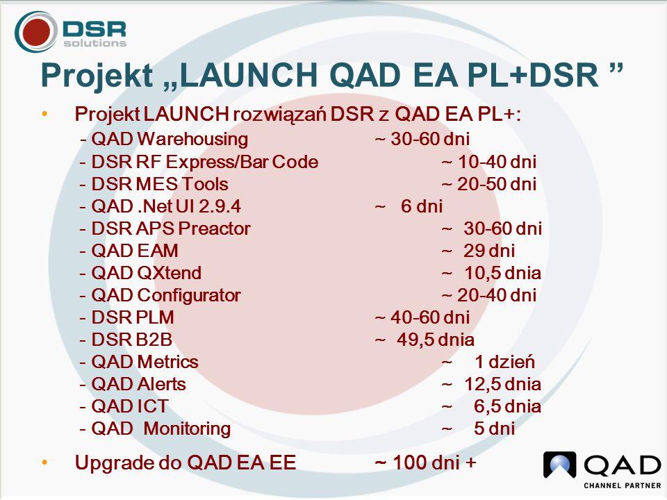 """Projekt """"LAUNCH QAD EA PL+DSR"""