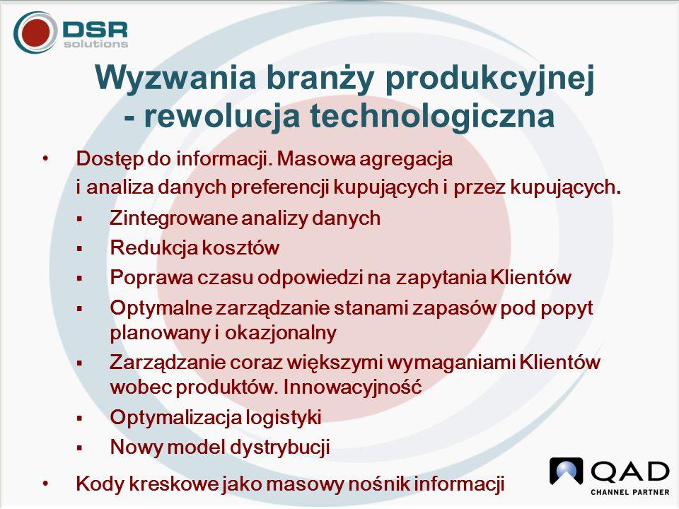 Wyzwania branży produkcyjnej - rewolucja technologiczna