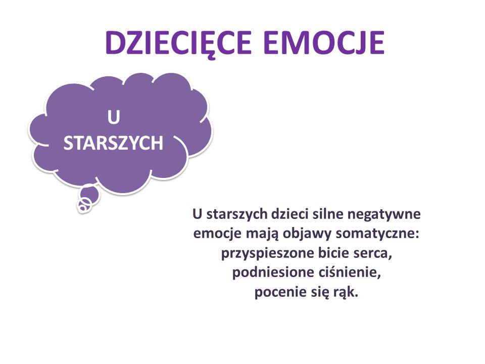 DZIECIĘCE EMOCJE U STARSZYCH