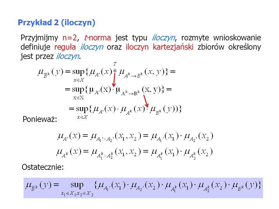 Przykład 2 (iloczyn)
