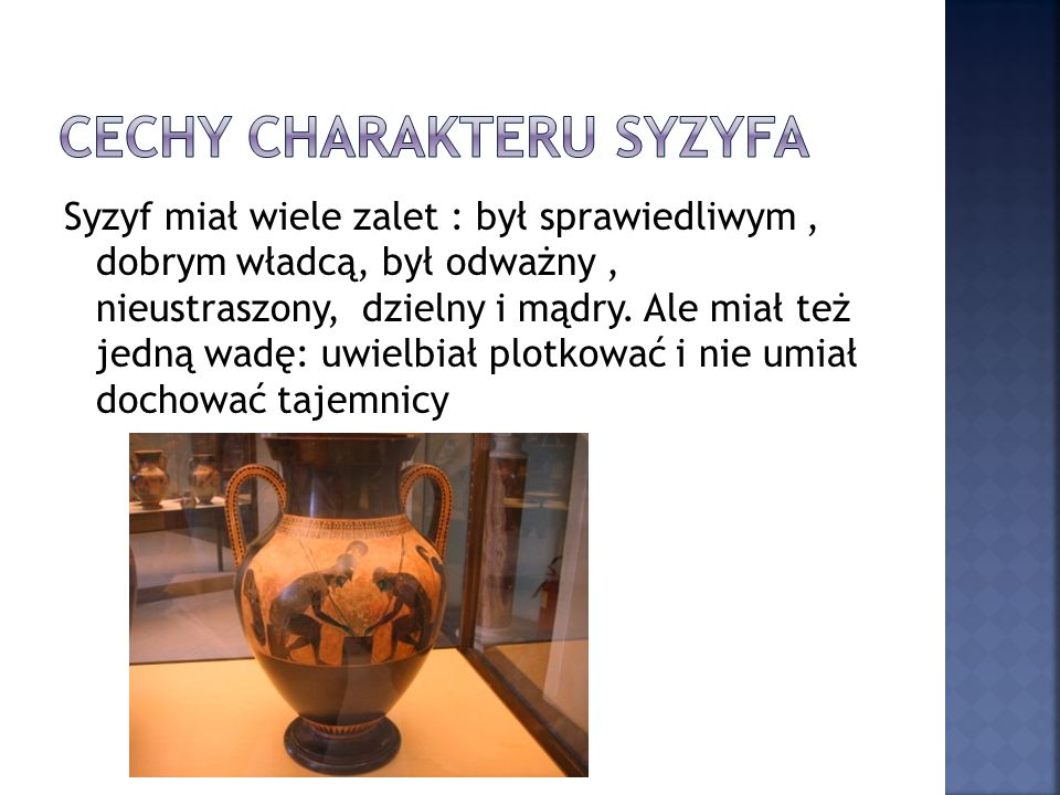 Cechy charakteru syzyfa