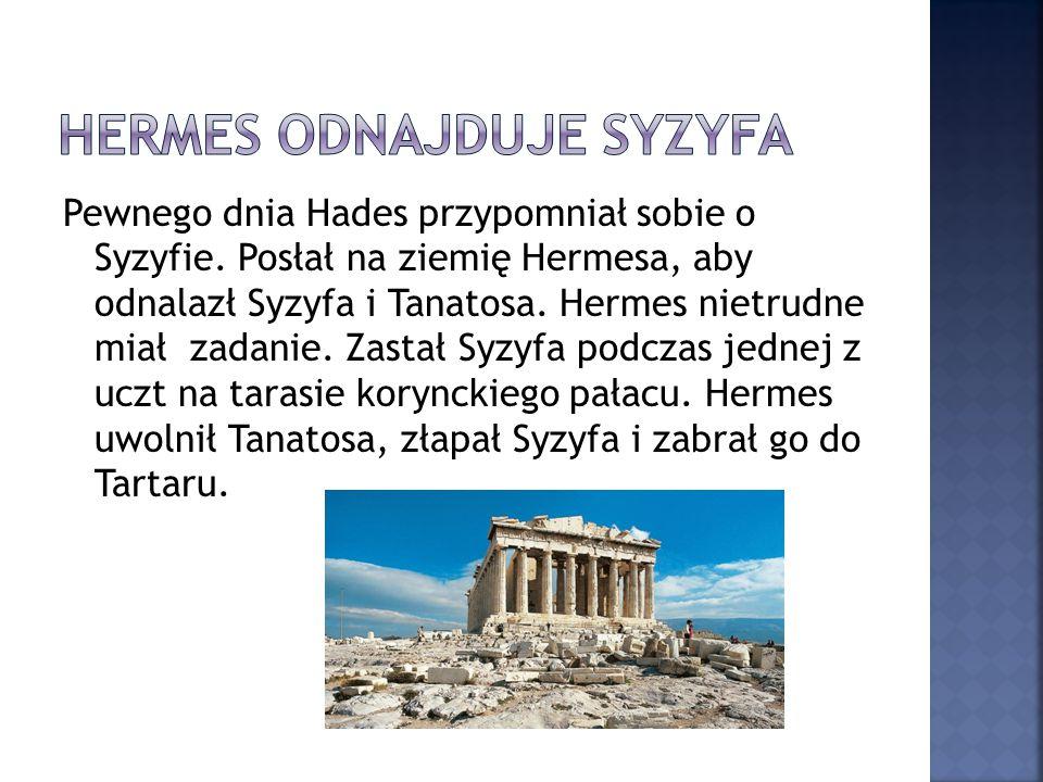 Hermes odnajduje Syzyfa