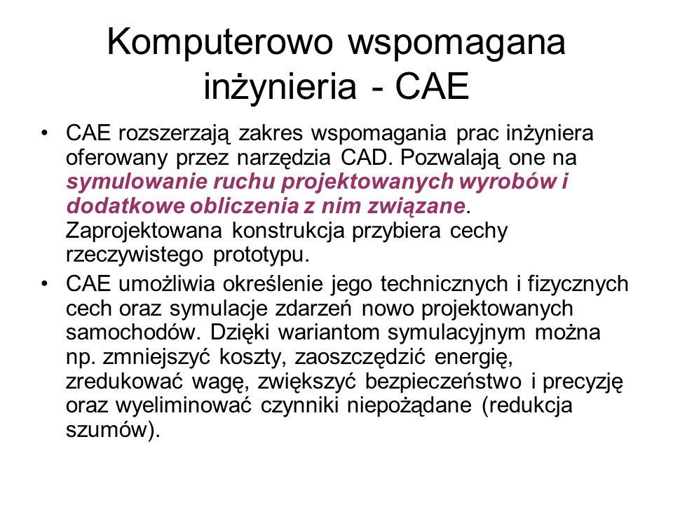 Komputerowo wspomagana inżynieria - CAE