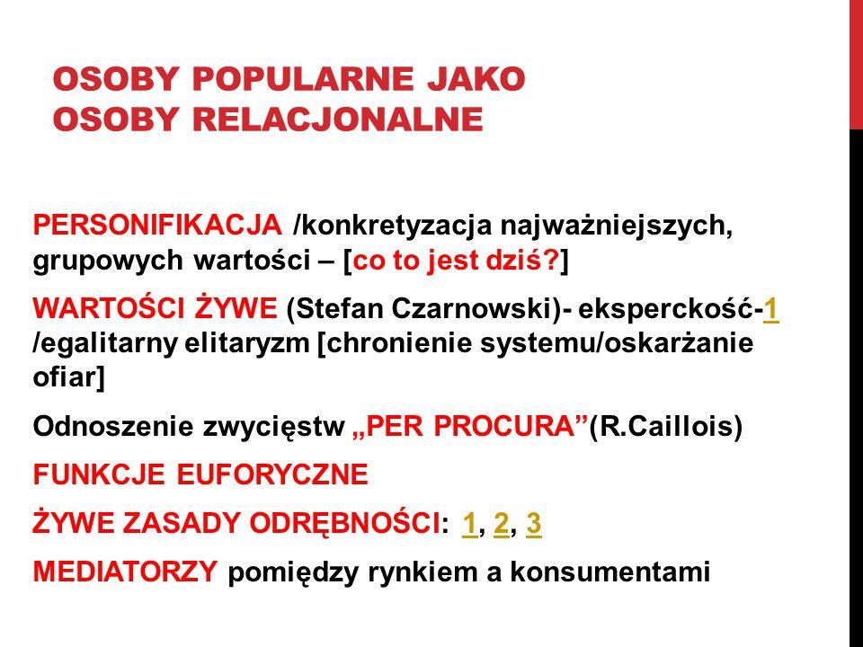 Osoby popularne jako osoby relacjonalne