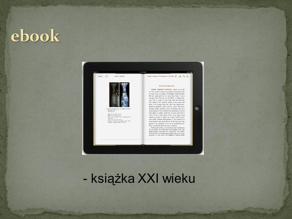 ebook - książka XXI wieku