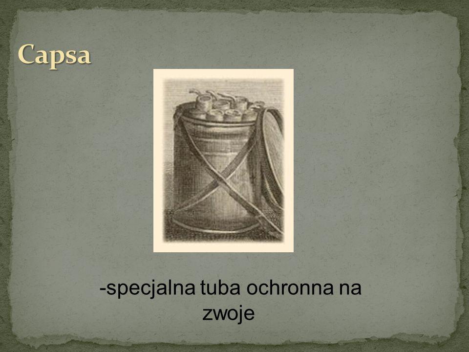 -specjalna tuba ochronna na zwoje