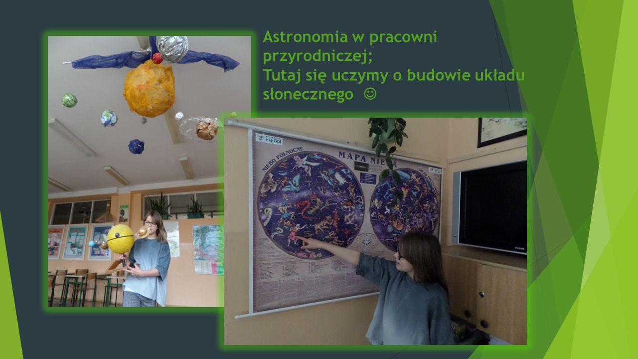 Astronomia w pracowni przyrodniczej;